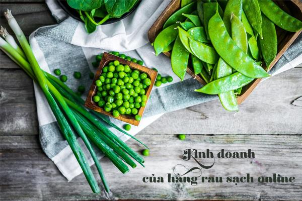 Kinh doanh cửa hàng rau sạch online