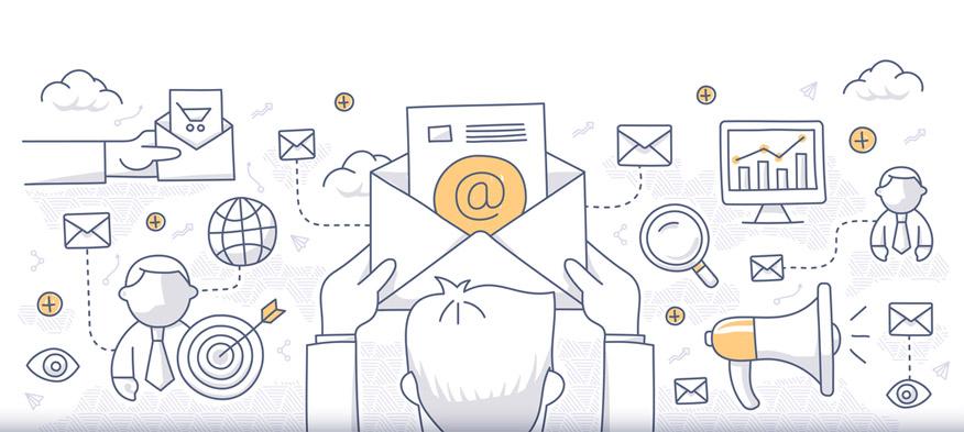 sử dụng sức mạnh của email marketing