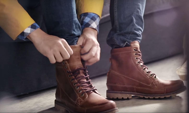 Giày boot cổ cao nam
