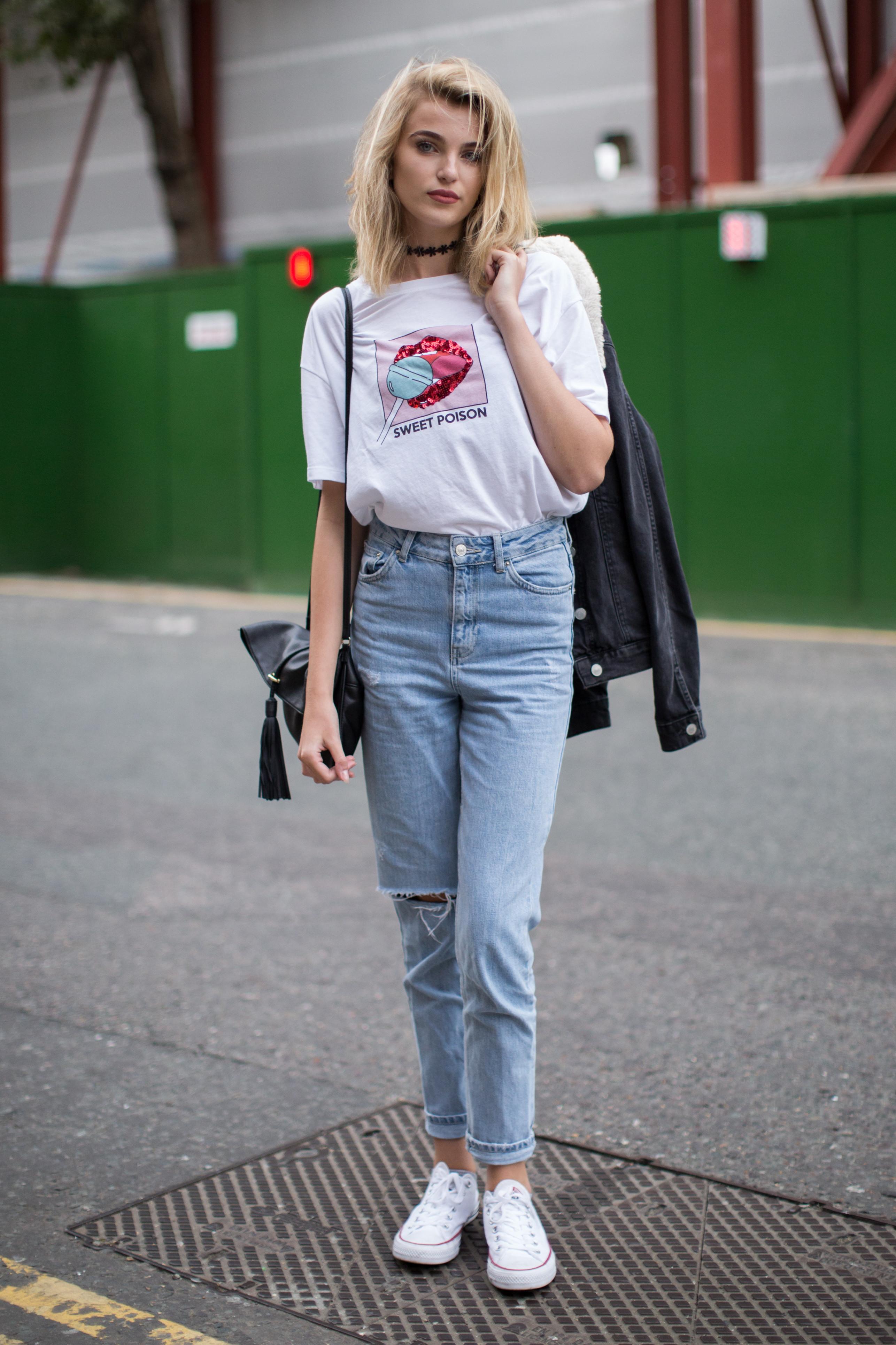 Phối đồ với quần jean
