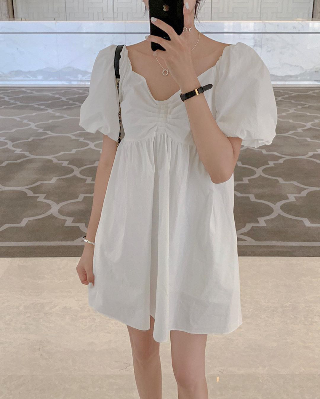 Mặc váy đầm babydoll