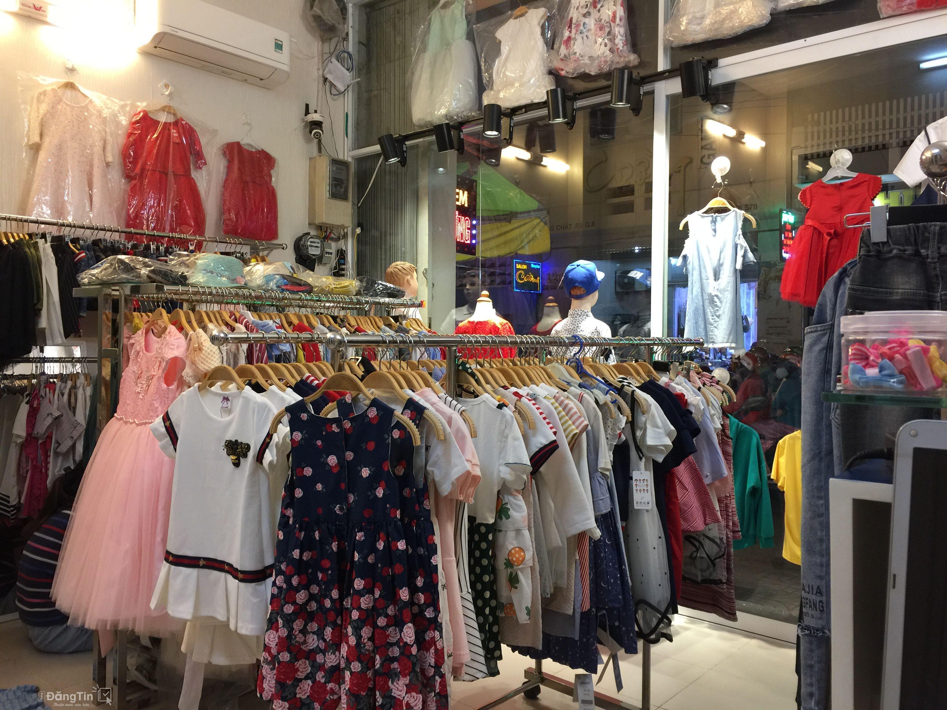 75 Triệu] Sang Shop Quần Áo Trẻ Em Và Người Lớn