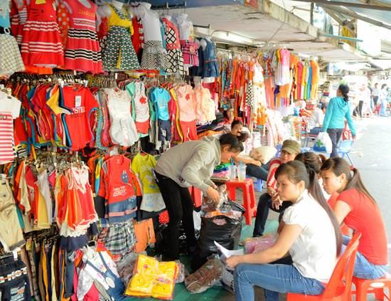 nguồn bán buôn quần áo trẻ em