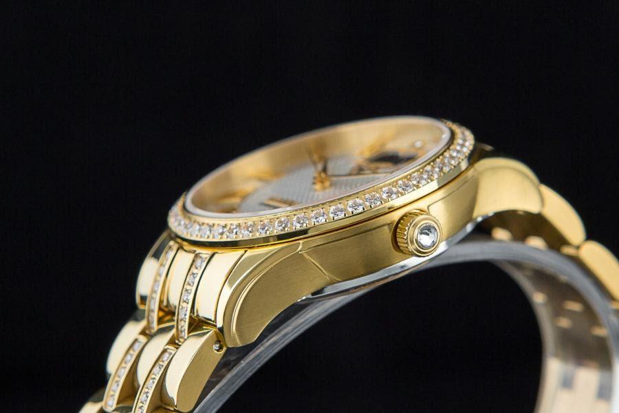 Đồng hồ nữ bằng vàng 18k